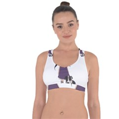 Dolly Girl And Dog Cross String Back Sports Bra