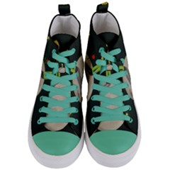 The Little Prince Women s Mid Top Canvas Sneakers