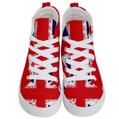 Union Jack London Flag Uk Kid s Hi Top Skate Sneakers