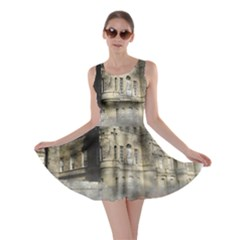 Castle Ruin Attack Destruction Skater Dress