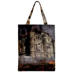 Castle Ruin Attack Destruction Classic Tote Bag