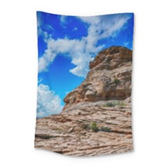 Mountain Canyon Landscape Nature Small Tapestry