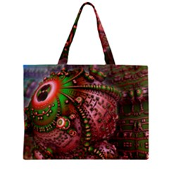 Fractal Symmetry Math Visualization Zipper Mini Tote Bag