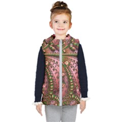 Fractal Symmetry Math Visualization Kid s Puffer Vest