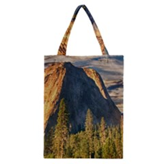 Mountains Landscape Rock Forest Classic Tote Bag