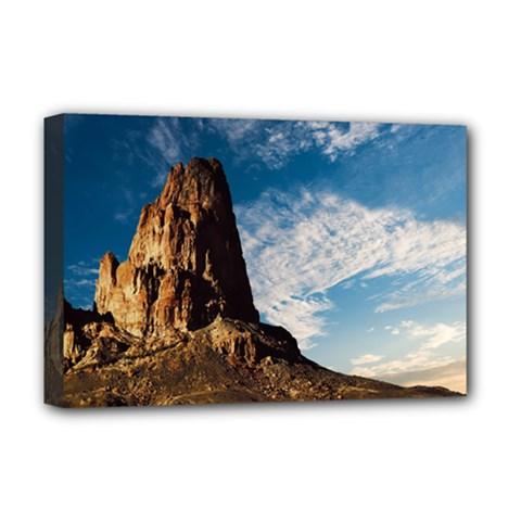 Mountain Desert Landscape Nature Deluxe Canvas 18  X 12