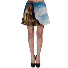 Mountain Desert Landscape Nature Skater Skirt