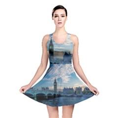 London Westminster Landmark England Reversible Skater Dress