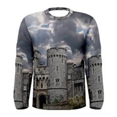 Castle Building Architecture Men s Long Sleeve Tee