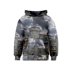 Castle Building Architecture Kids  Pullover Hoodie