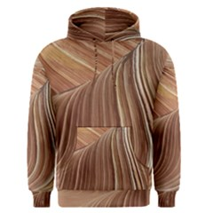Swirling Patterns Of The Wave Men s Pullover Hoodie
