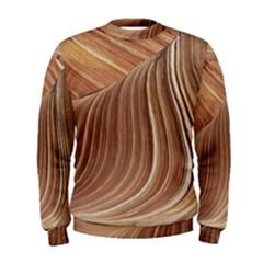 Swirling Patterns Of The Wave Men s Sweatshirt