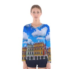 Buildings Architecture Architectural Women s Long Sleeve Tee