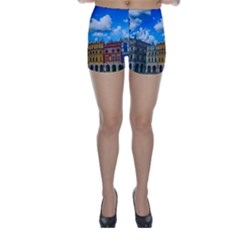 Buildings Architecture Architectural Skinny Shorts
