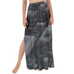 Backdrop Construction Pattern Maxi Chiffon Tie Up Sarong