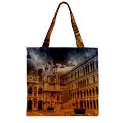 Palace Monument Architecture Grocery Tote Bag