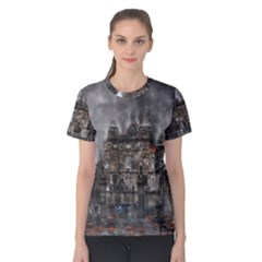 Armageddon War Apocalypse Women s Cotton Tee