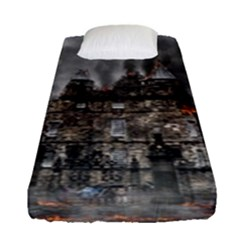 Armageddon War Apocalypse Fitted Sheet (single Size)