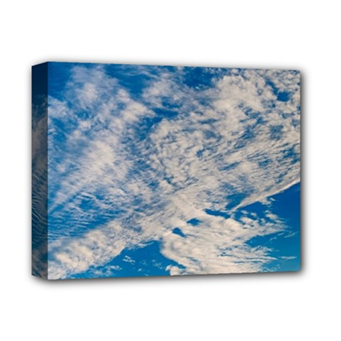 Clouds Sky Scene Deluxe Canvas 14  X 11