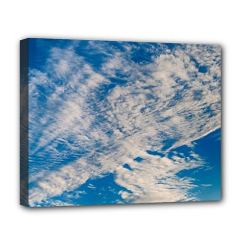 Clouds Sky Scene Deluxe Canvas 20  X 16