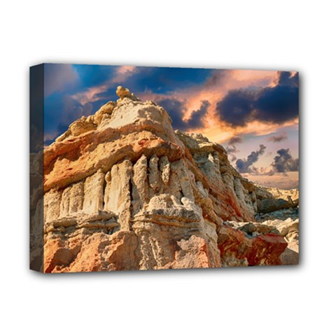 Canyon Dramatic Landscape Sky Deluxe Canvas 16  X 12