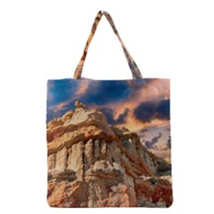 Canyon Dramatic Landscape Sky Grocery Tote Bag
