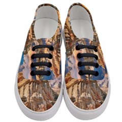 Canyon Dramatic Landscape Sky Women s Classic Low Top Sneakers