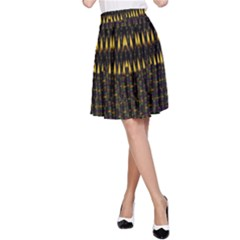Hot As Candles And Fireworks In The Night Sky A Line Skirt