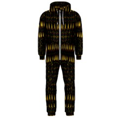 Hot As Candles And Fireworks In The Night Sky Hooded Jumpsuit (men)