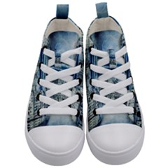 Storm Weather Nature Thunderstorm Kid s Mid Top Canvas Sneakers