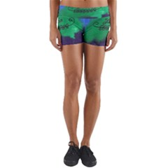 Smiling Mountain Yoga Shorts