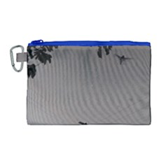 Stop Action Pigeon Canvas Cosmetic Bag (large)