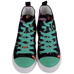 Hearts Women s Mid Top Canvas Sneakers