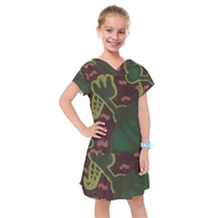 The Desert Plant Kids  Drop Waist Dress