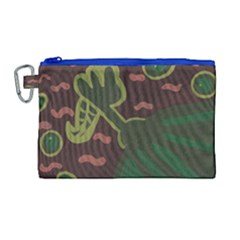 The Desert Plant Canvas Cosmetic Bag (large)