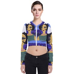 Girl By The Sea Bomber Jacket