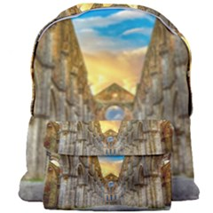 Abbey Ruin Architecture Medieval Giant Full Print Backpack