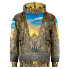 Abbey Ruin Architecture Medieval Men s Overhead Hoodie