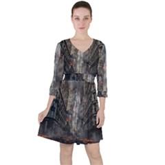 Destruction War Conflict Death Ruffle Dress