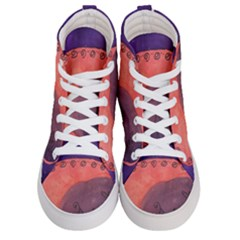 Tee Pee Egg Men s Hi Top Skate Sneakers