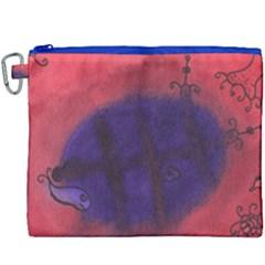 Sea Horses Canvas Cosmetic Bag (xxxl)