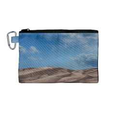 Sand Dune Desert Landscape Dry Canvas Cosmetic Bag (medium)