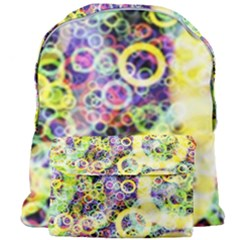 Background Texture Rings Giant Full Print Backpack