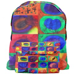 Water Color Eggs Giant Full Print Backpack