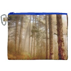 Forest Trees Wood Branc Canvas Cosmetic Bag (xxl)
