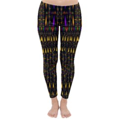 Hot As Candles And Fireworks In Warm Flames Classic Winter Leggings