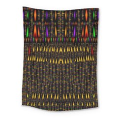 Hot As Candles And Fireworks In Warm Flames Medium Tapestry
