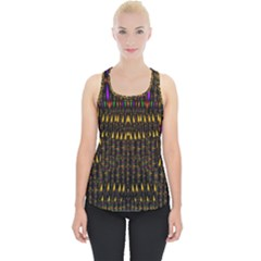 Hot As Candles And Fireworks In Warm Flames Piece Up Tank Top