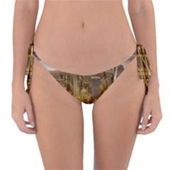 New York Empire State Building Reversible Bikini Bottom