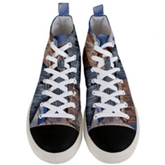 Banjo Player Outback Hill Billy Men s Mid Top Canvas Sneakers